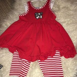 Dress and legging toddler